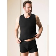 Walbusch Nadelzug-Shorts m. E. 2er-Pack Schwarz 10