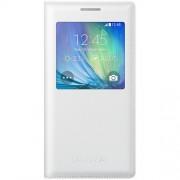 Husa Samsung S-View Cover EF-CA500BWEGWW white pt Galaxy A5 A500