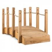 Rialto tuinbrug sierbrug 58x58x122cm (BxHxD) touw massief hout