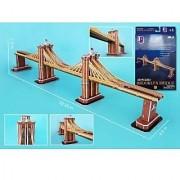 Daron Brooklyn Bridge 3D Puzzle 64-Piece