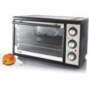 GLEN 25-Litre SA-5025BLRC Oven Toaster Grill (OTG)(Black)