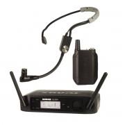 Shure GLXD14/SM35 Z2 Sistema sem fio com microfone de cabeça