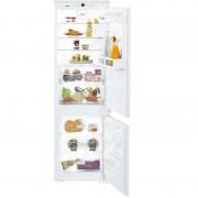 Combina frigorifica incorporabila ICBS 3324, 255 L, Clasa A++, SmartFrost, H 178 cm