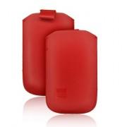 Chic pochette ultra slim - Apple iPhone 3G / 3GS / 4 / 4S / Samsung i900 OMNIA - Rouge