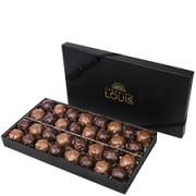 Interflora Coffret rochers chocolat noir et lait X 32