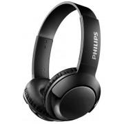 Casti Stereo Philips BASS+ SHB3075BK, Bluetooth, Microfon (Negru)