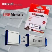 32GB USB Flash Drive, Maxell Metalz, метална, USB 3.0, сребриста
