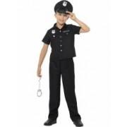 Costum politist american copii 140 cm 8-10 ani