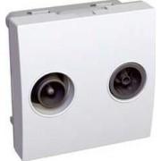 ALTIRA TV-FM aljzat IP20 Fehér ALB45327 - Schneider Electric