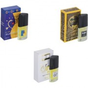 Skyedventures Set of 3 ILU-Kabra Yellow-Silent Love Perfume