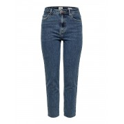 Only Onlemily Hw St Raw Crp Ank Mae 0005: - jeans - Size: 30L32