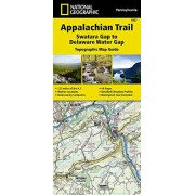 NATL GEOGRAPHIC MAPS Appalachian Trail, Swatara Gap to Delaware Water Gap [pennsylvania] (National Geographic Trails Illustrated Map)