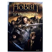 The Hobbit An Unexpected Journey Valentine Exchange Cards (32 Count)