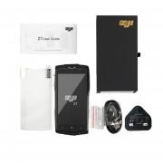 ZOJI-Z7 Fingerprint Desbloquear 2GB RAM+16GB ROM Resistente Al Agua IP68, Teléfono Inteligente Verde Enchufe UK
