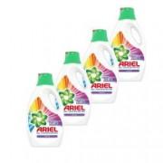 Pachet promo 4 x Detergent lichid Ariel Color 40 spalari 2.2L