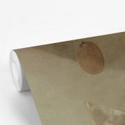 Fotobehang vinyl - Stilleven met boeken - Schilderij van Jan Davidsz de Heem breedte 375 cm x hoogte 240 cm - Foto print op behang (in 7 formaten beschikbaar)