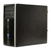 Calculator HP Elite 6300 Tower, Intel Core i3 Gen 2 2120 3.3 GHz, 4 GB DDR3, 320 GB SATA, placa video noua Radeon R7 240 2GB, DVD-ROM