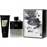 Carolina Herrera CH Men Prive Комплект (EDT 100ml + AS Balm 100ml) за Мъже