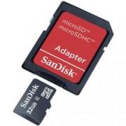 SanDisk Paměťová karta microSDHC, 32 GB, SanDisk SDSDQB-032G-B35, Class 4, vč. SD adaptéru