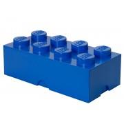 40041731 Cutie depozitare LEGO 2x4 albastru inchis