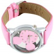 ER New Disney Mickey Mouse Reloj De Pulsera De Cuarzo De Moda