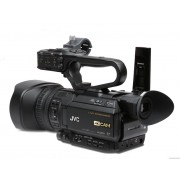 Pachet JVC GY-HM250E + Manfrotto Kit MVK500AM trepied video + Manfrotto CC 193N geanta video