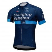 Maillot Ciclista Corto Changing Diabetes 2018