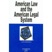 American Law and the American Legal System in a Nutshell (Bonfield Lloyd)(Paperback) (9780314150165)