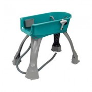 Booster Bath Elevated Dog Bathing and Grooming Center, Medium, Teal
