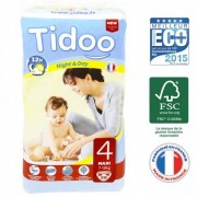 Tidoo Couches Night & Day T4 7-18 kg - 50 couches - Tidoo