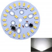 12W 24 LEDs SMD Dimmable LED Lampara Bombilla C3 5500K Modulo Panel Techo Fuente De Iluminacion Modificada Instalación Conveniente, AC 220 - 240V (luz Blanca)