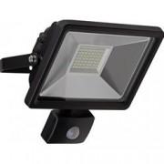 Goobay Proiettore LED Nero IP44 30W 2500lm Sensore Movimento, Classe A+