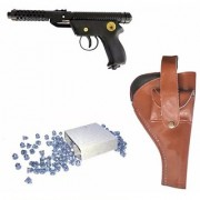Prijam Air Gun Pd Metal Body 300 Pellets Cover Air Gun Combo Offer