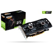 VGA Inno3D RTX 2060 Twin X2, nVidia GeForce RTX 2060, 6GB, do 1680MHz, 24mj (N20602-06D6-1710VA15L)