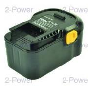 2-Power Verktygsbatteri AEG 18v 3000mAh (B1814G)