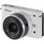 Nikon Cámara Híbrida Nikon 1 J1 Blanco + Objetivo Nikkor VR 30-110mm