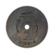 Disc fierastrau circular Wolfcraft Ø160x2x16 mm 100 dinti
