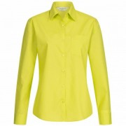 RUSSELL shirt met lange mouwen poly-katoen poplin dames 0R934F0-limoen - groen - Size: Large