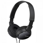 Слушалки Sony Headset MDR-ZX110AP, Черен - MDRZX110APB.CE7