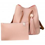 Louiwill Mujeres & # 039; S De La PU Del Hombro Del Cuero Bolsas Asa Superior Del Bolso De Mano Simple Monedero Cross Body Bag Moda