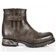 bottes en cuir pour hommes - NEW ROCK - M.MR013-S2