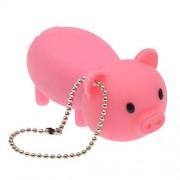 FEBNISCTE 16GB Llave USB Almacenamiento Externo Estilo de Animal Creativo Rosa Cerdo