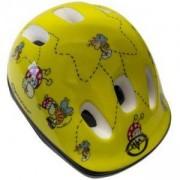 Каска за велосипед Flip, S, жълта, MASTER, MAS-B200-S-yellow
