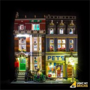 LIGHT MY BRICKS Kit for 10218 Pet Shop