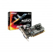 Tarjeta de Video NVIDIA GeForce N210 MSI, 1GB GDDR3, 1xHDMI, 1xDVI