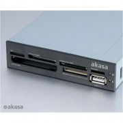 Čítačka kariet AKASA AK-ICR-07 USB 2.0 interná + USB 2.0