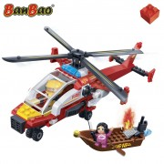BanBao Fire Brigade Helicopter 7107