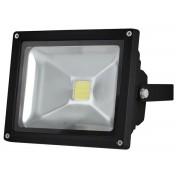 LED-Strahler für den Außenbereich - 20 W Epistar Chip - 3000 K, schwarz