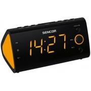 Rádiós ébresztőóra orange színű LED kijelzővel SRC 170 OR