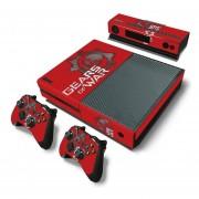 Xbox One Skin Estampa Pegatina - Gears Of War 1